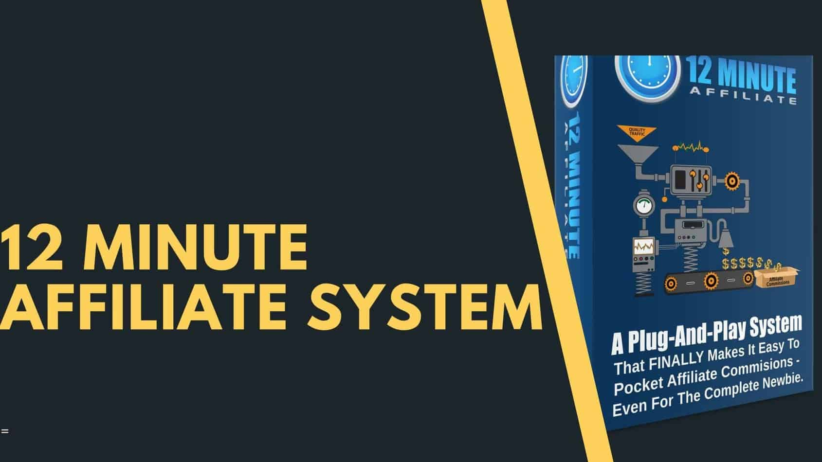 Affiliate Marketing 12 Minute Affiliate System  Promotions May